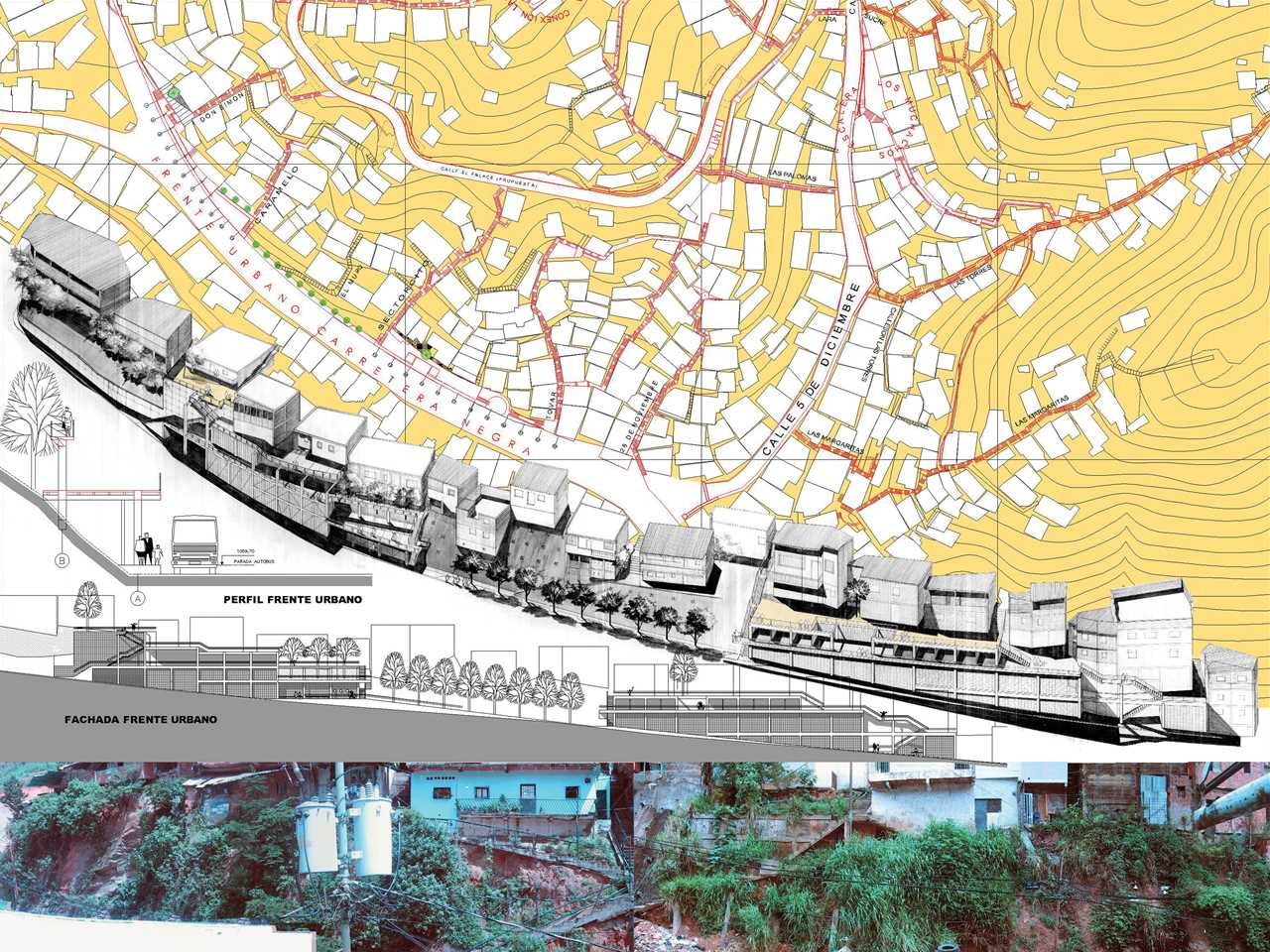Holcim Awards Bronze 2005 Latin America: San Rafael-Unido, Urban Integration Project, Venezuela