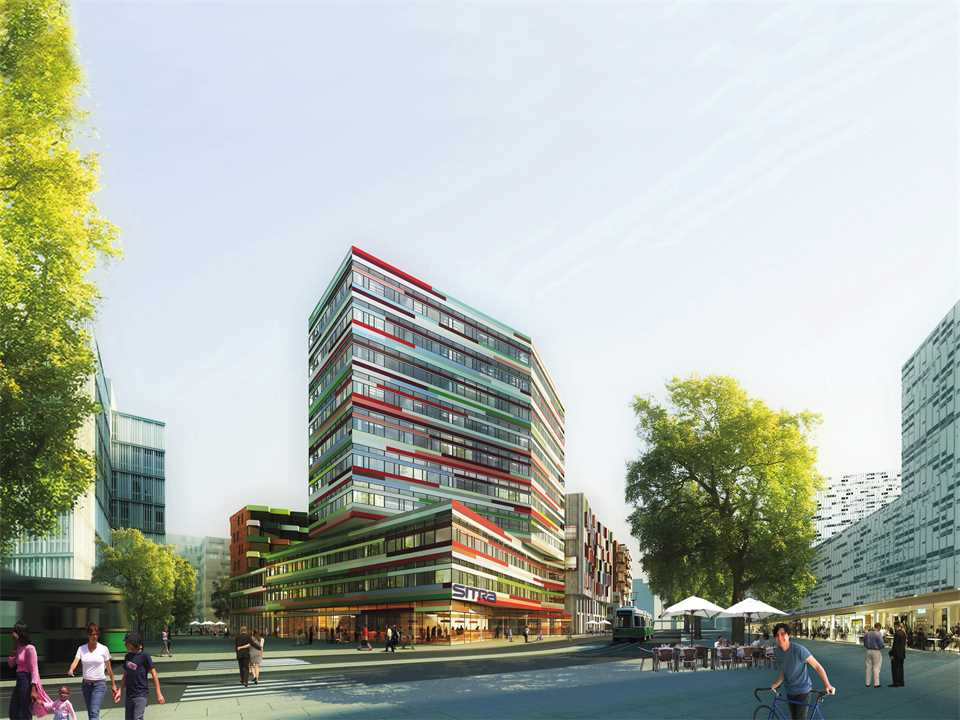Holcim Awards Acknowledgement prize 2011 Europe: Medium rise timber office building in low-to-no …
