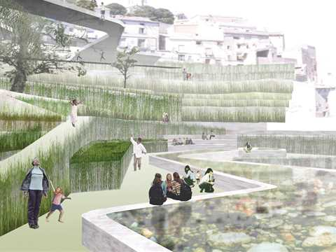Project entry 2005 Europe – The mysterious story of the garden that makes water, Cehegín, Spain