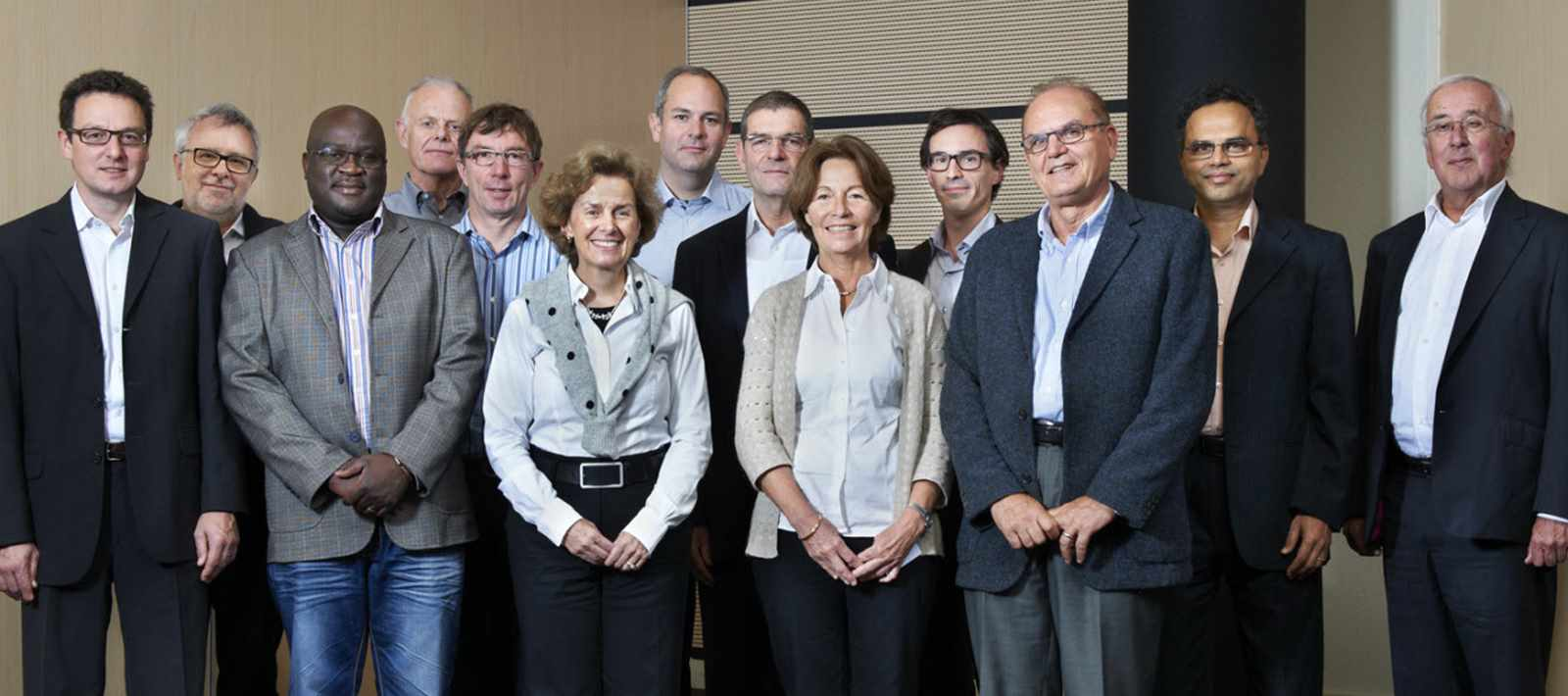 Representatives of the Partner Universities of the LafargeHolcim Foundation met in Lausanne, …