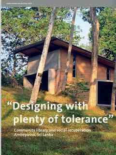 """Designing with plenty of tolerance"" in Fourth Holcim Awards – Sustainable Construction 2014/2015"