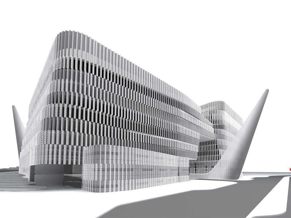 Holcim Awards Bronze 2008 Asia Pacific: Energy-efficient office complex, Hyderabad, India