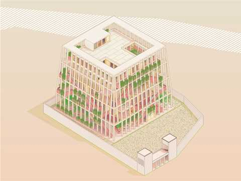 Project Entry 2014 Asia Pacific - Children's Ziggurat: Locally-adapted orphanage and library, …