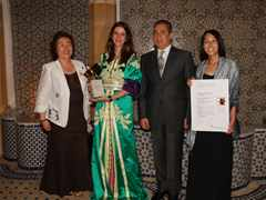 Global Holcim Awards Gold 2009 handover in Fez, Morocco