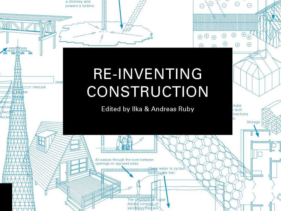 Re-inventing Construction-Front cover