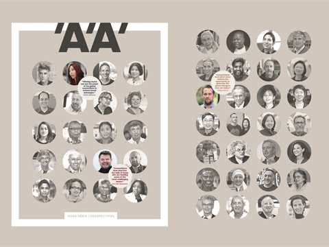 L'Architecture d'Aujourd'hui (AA) special issue dedicated to the benefit of participating ...