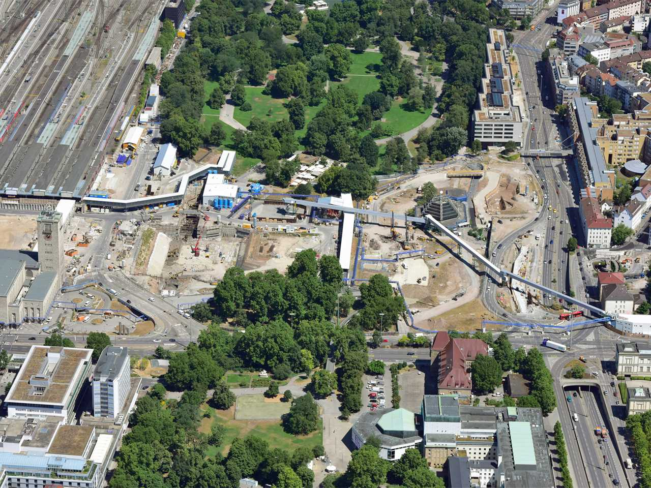 Project update October 2015 – Main Station Stuttgart, Germany