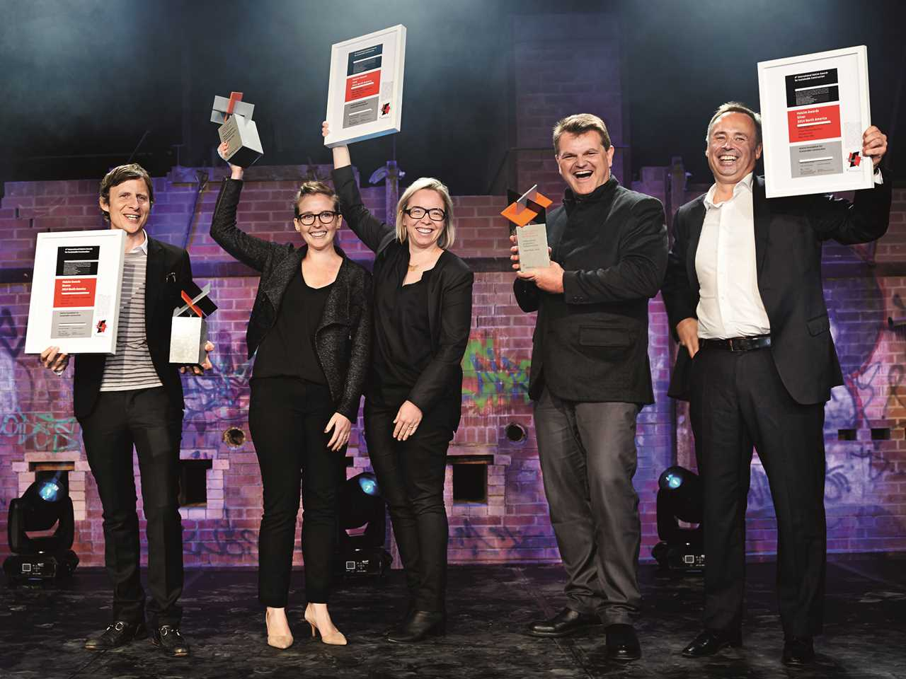Holcim Awards North America ceremony, Toronto, Canada