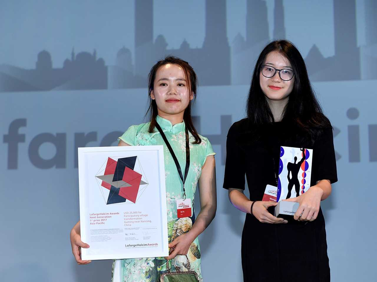 LafargeHolcim Awards 2017 for Asia Pacific prize handover ceremony, Kuala Lumpur