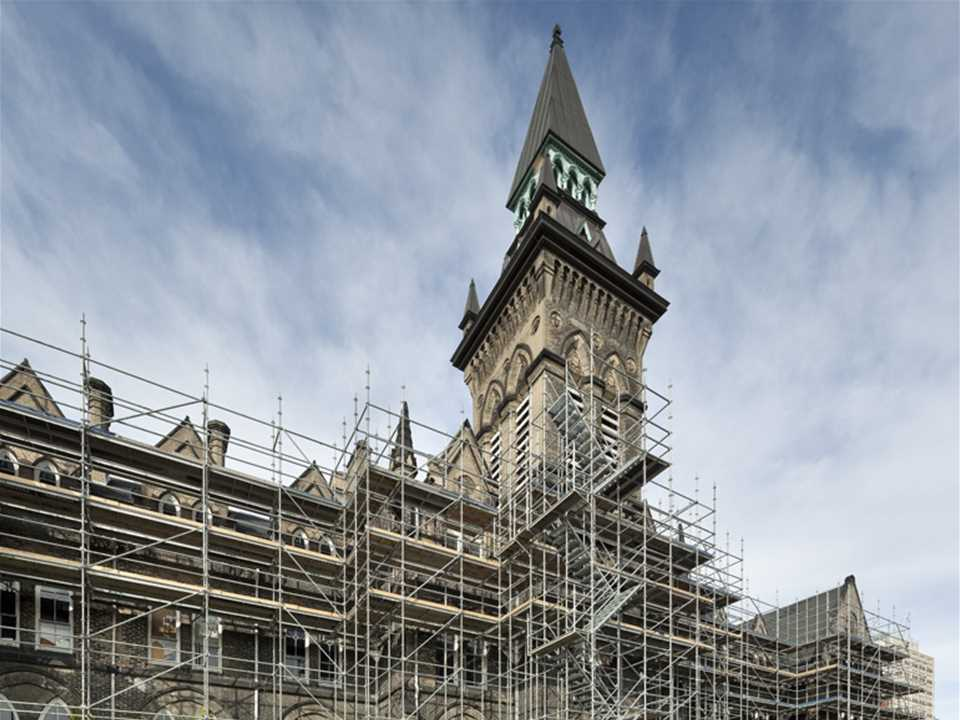 Project update January 2015 – Heritage Reframed, Toronto, Canada