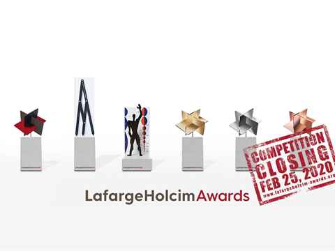 Final call to enter USD 2 million LafargeHolcim Awards