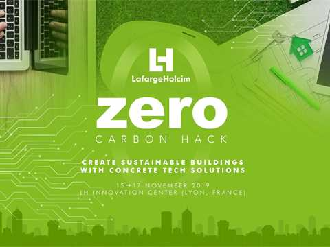 Creating sustainable buildings: Invitation to Zero Carbon Hack