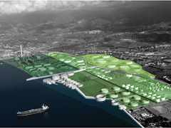 Waterfront reclamation and remediation, Southern Italy