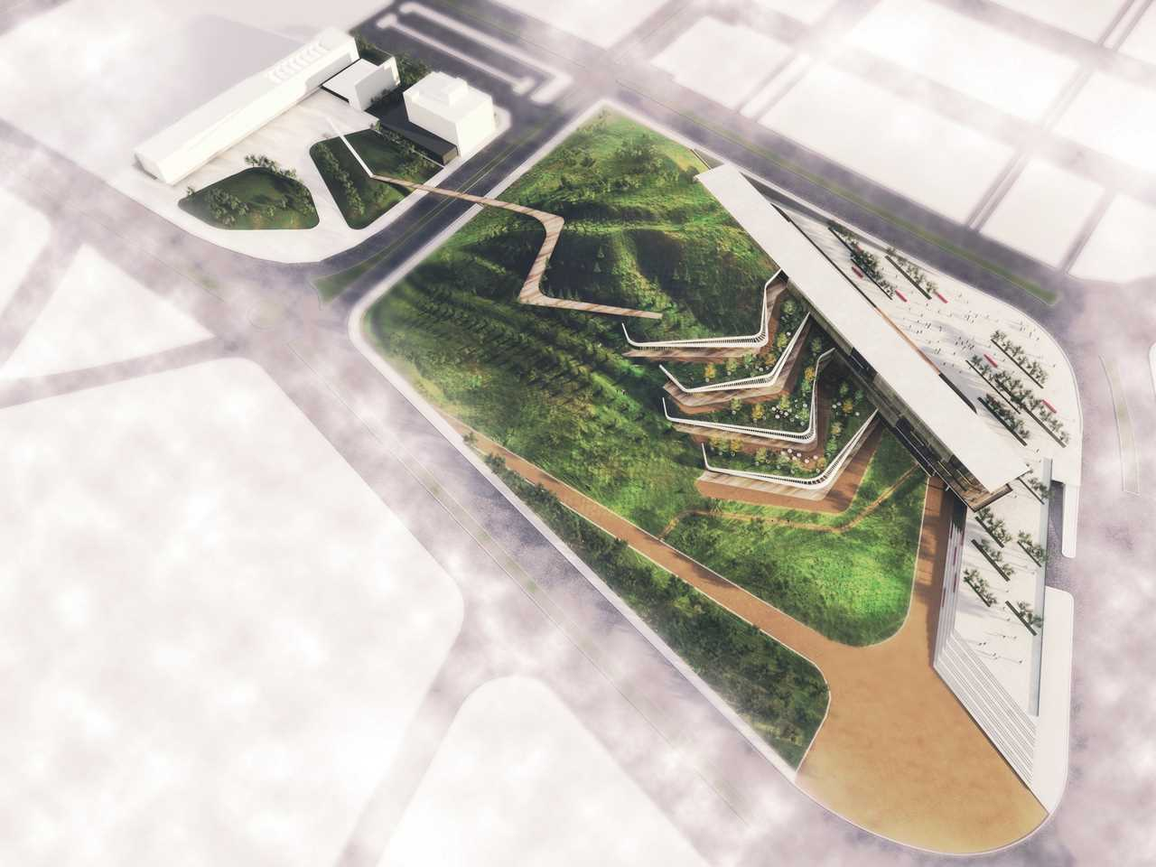 Holcim Awards Gold – Eco-Techno Park: Green building showcase and enterprise hub, Ankara, Turkey