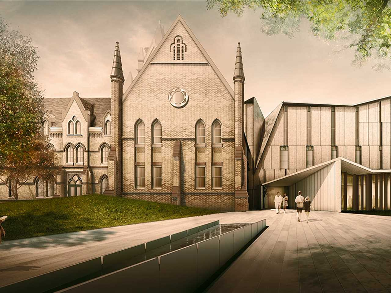 Heritage Reframed: University building renovation and extension, Toronto, ON, Canada