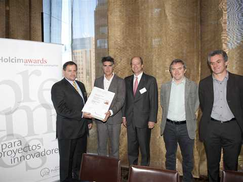 Global Holcim Awards 2012 Finalist certificate handover – Sustainable post-tsunami reconstruction …