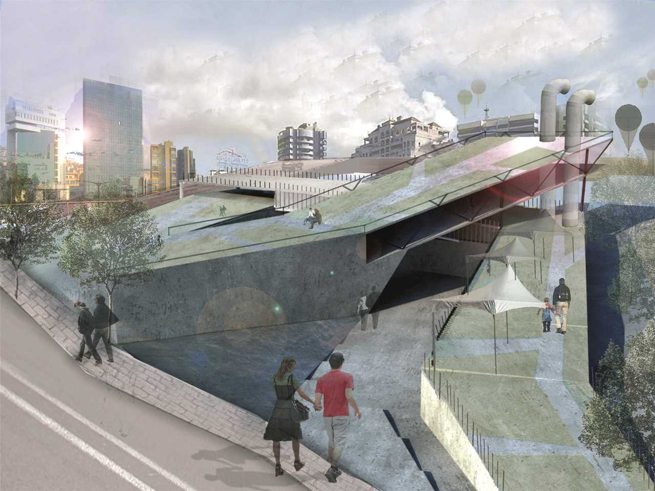 "Holcim Awards ""Next Generation"" 4th prize - Waste to Energy: Urban energy recovery and …"