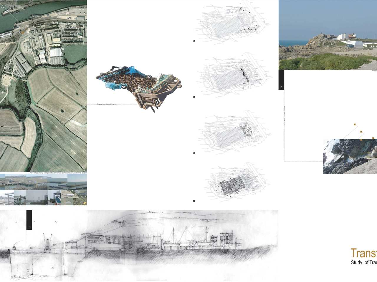 "Holcim Awards ""Next Generation"" 1st prize 2008 Europe: Production and ecological cluster, New …"