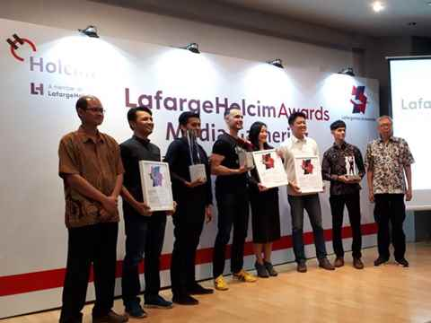 Reception in Jakarta for Awards winners from Indonesia
