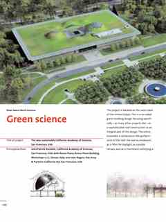 """Green science"" in First Holcim Awards for Sustainable Construction 2005/2006"