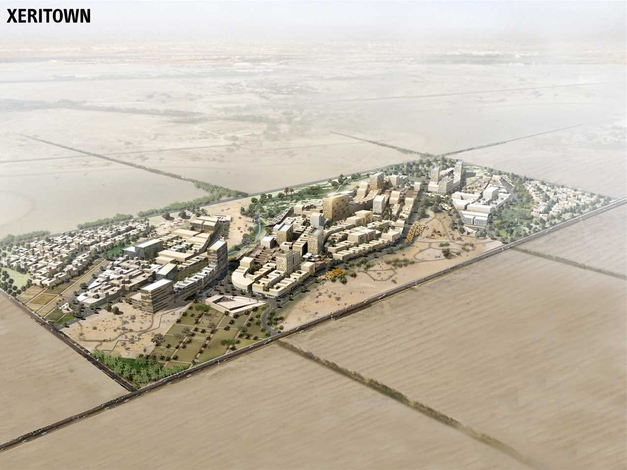 Holcim Awards Acknowledgement prize 2008 Africa Middle East: Xeritown responsive urban …