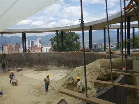 Project update August 2015 – Articulated Site: Water reservoirs as public park, Medellín, Colombia