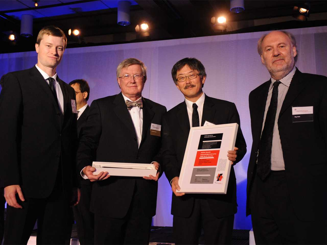 Holcim Awards 2008 ceremony for North America – Montreal, QC, Canada