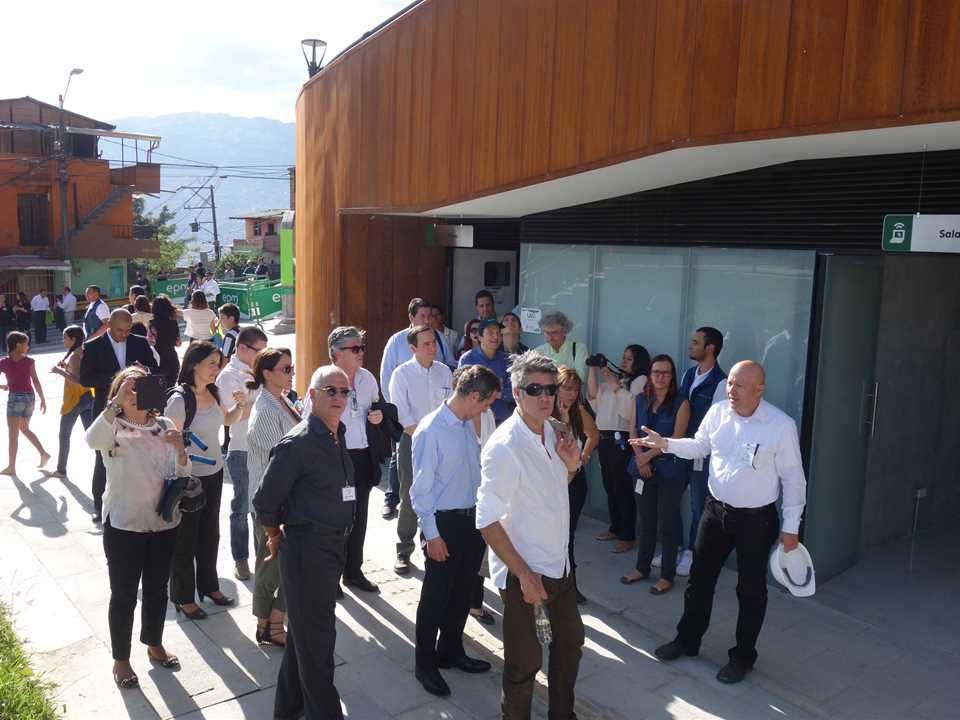 Global prize handover – Visiting tour at UVA La Alegria, Medellín, Colombia