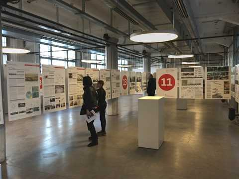 Inspiring sustainable construction projects from around the globe exhibited in Zurich