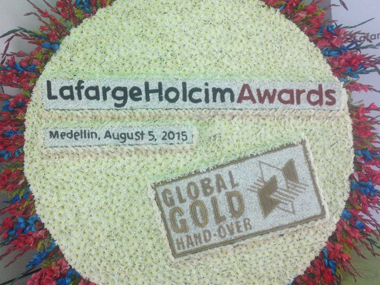 Global Gold Awards 2015 prize handover
