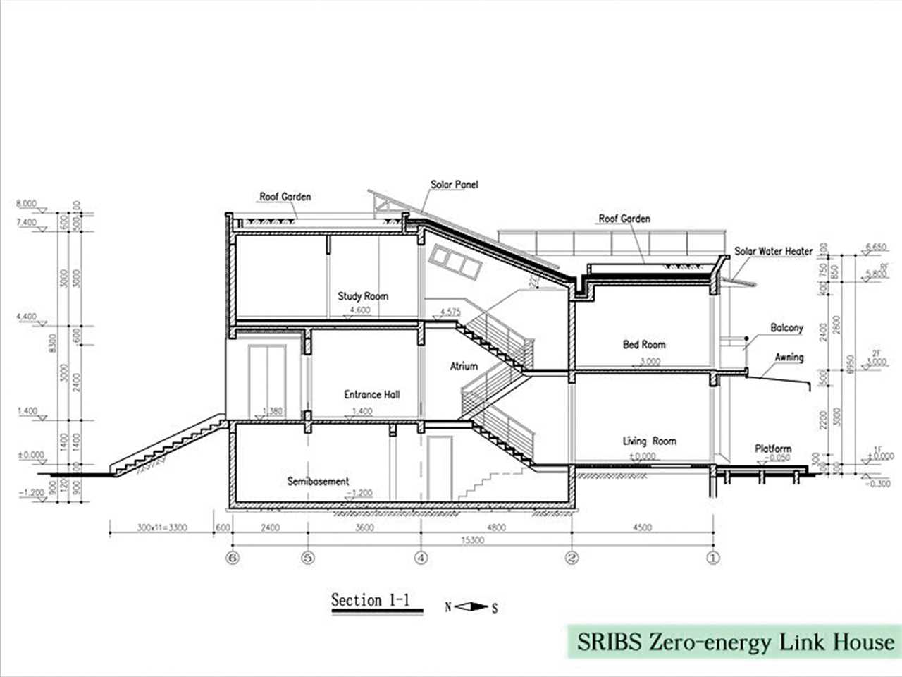 Project entry 2005 Asia Pacific – SRIBS Minimal energy link house, Shanghai, China