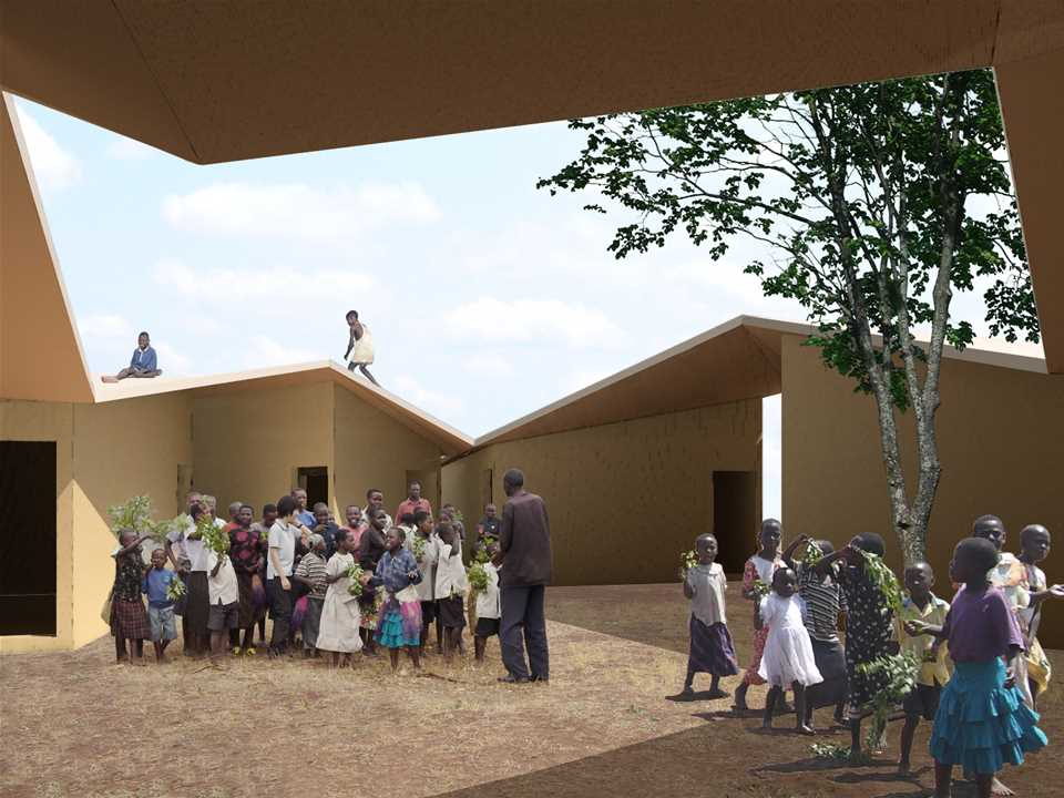 Holcim Awards Silver 2008 Africa Middle East: Low-cost school and home for HIV orphans, Rakai, …