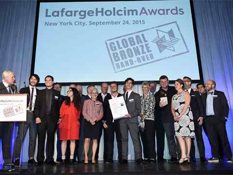 Global Bronze Awards 2015 prize ceremony – The Dryline: Urban flood protection …