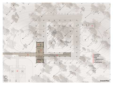 Project entry 2014 Latin America – Arboreal Platform: Low-impact timber rainforest center, …