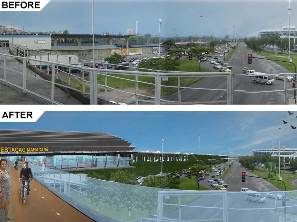 Holcim Awards Acknowledgement prize 2008 Latin America: Multi-modal transport hub upgrade, Rio de …