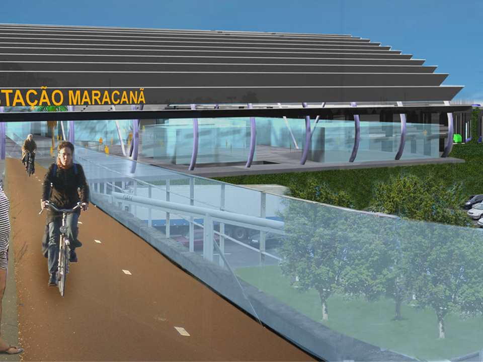 Multi-modal transport hub upgrade