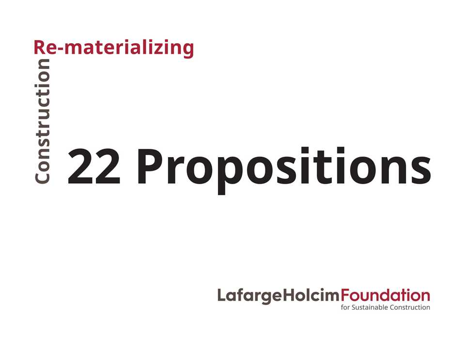 F19 22 Propositions