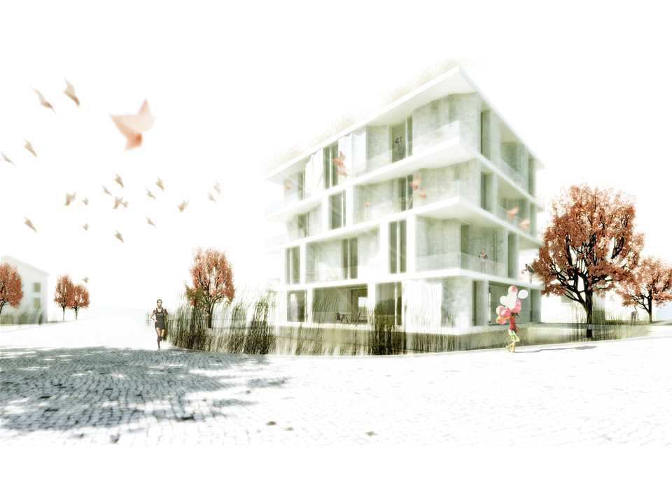 Holcim Awards Acknowledgement prize 2011 Europe: Low-cost apartments incorporating smart …