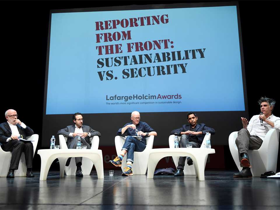 Reporting from the Front: Sustainability vs. Security