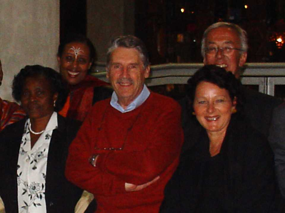Peter Baccini (center) at Holcim Awards jury meeting 2005 for Africa Middle East.