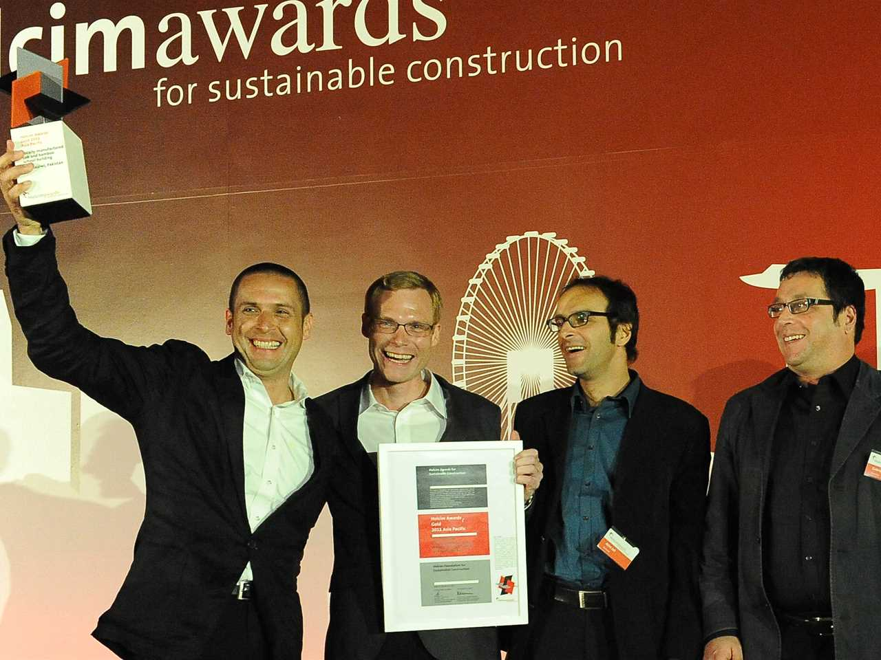 Holcim Awards ceremony for Asia Pacific – Singapore