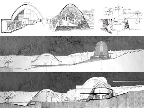"Project entry 2008 Africa Middle East - "" Stabilized earth visitors' center, Mapungubwe …"