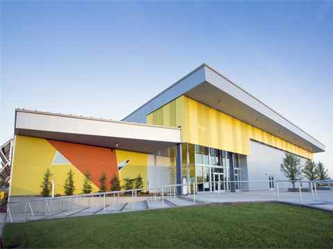 Zero net energy school building in California