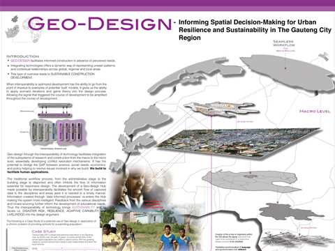 Geo-Design: Informing Spatial Decision-Making for Urban Resilience and Sustainability in …