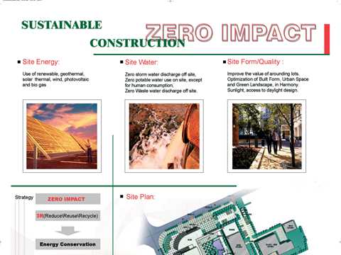 Zero impact sustainable construction