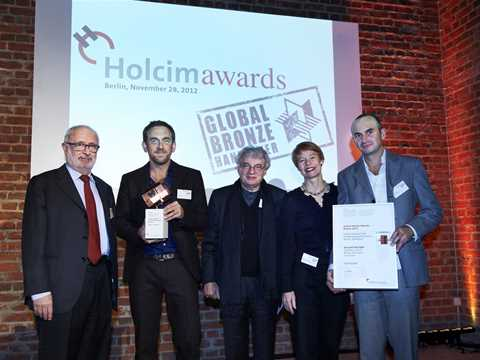 Handover of Global Holcim Awards Bronze in Berlin, Germany