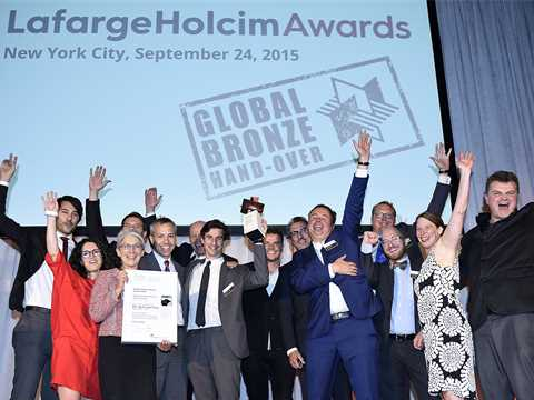 Global Awards Bronze 2015 handover in New York City, USA