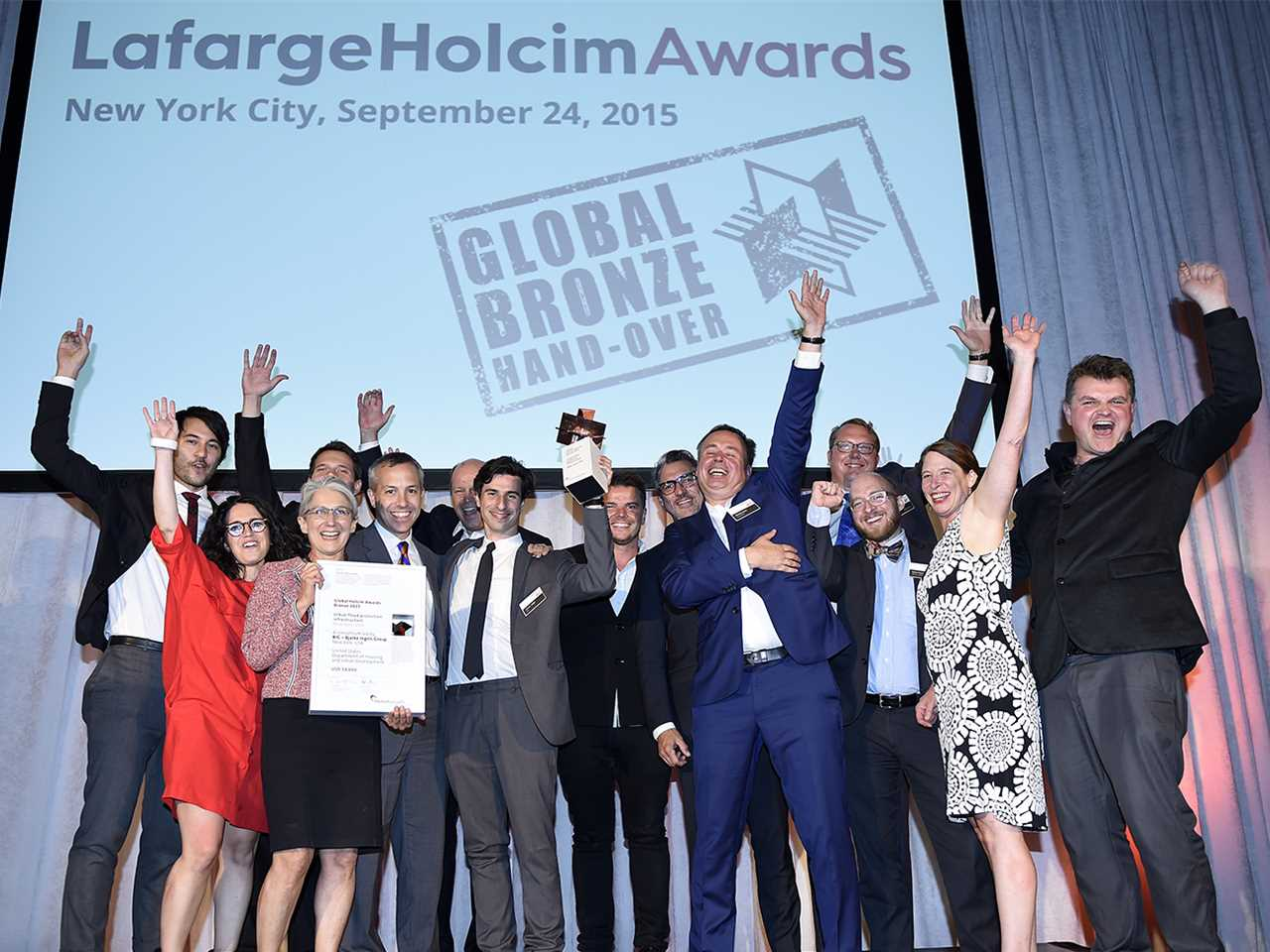 Global Bronze Awards 2015 prize ceremony – The Dryline: Urban flood protection infrastructure, …