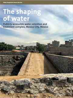 """The shaping of water"" in Fifth LafargeHolcim Awards – Sustainable Construction 2017/2018"