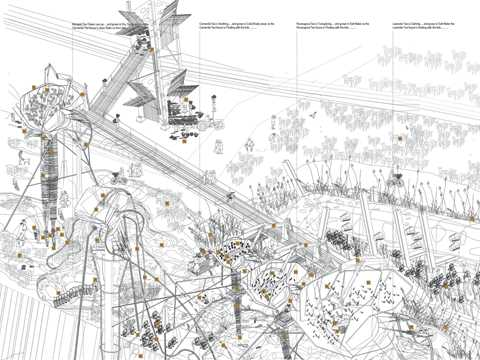 "Project entry 2008 Europe - ""Production and ecological cluster, New Haven, United …"